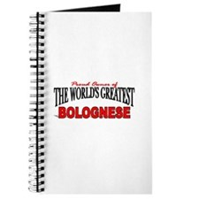 """The World's Greatest Bolognese"" Journal"