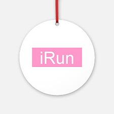 iRun Ornament (Round)