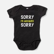 Sorry Awkward Baby Bodysuit
