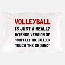 Volleyball Balloon Pillow Case