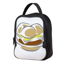 Cheese Burger Neoprene Lunch Bag