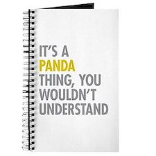 Its A Panda Thing Journal