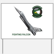 F-16_falcon_fighting.png Yard Sign