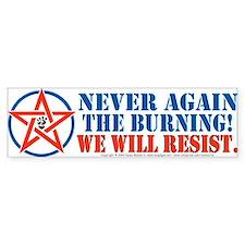 Resist! Bumper Bumper Sticker