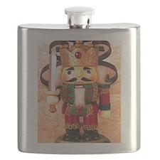 Holiday Nutcracker Flask