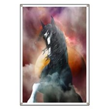 Fantasy Shire Horse Banner