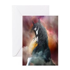 Fantasy Shire Horse Greeting Cards