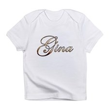 Gold Gina Infant T-Shirt