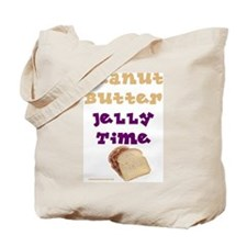 Peanut Butter Jelly Time Tote Bag
