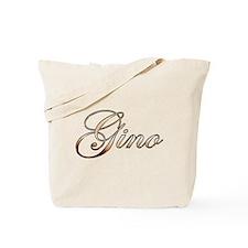 Gold Gino Tote Bag