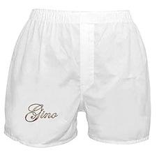 Gold Gino Boxer Shorts