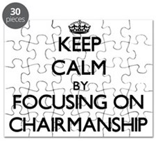 Keep Calm by focusing on Chairmanship Puzzle