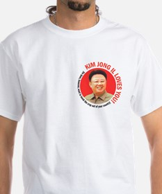 Kim Jong Il Loves You Shirt