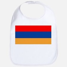 Cute Armenia flag Bib