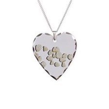 Baby Teeth Necklace Heart Charm