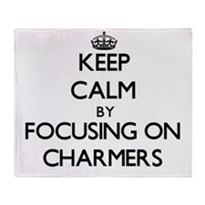 Keep Calm by focusing on Charmers Throw Blanket