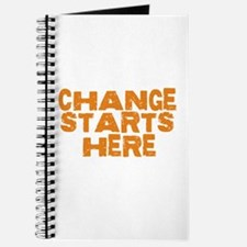 CHANGE STARTS HERE Journal