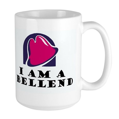 I AM A BELLEND Large Mug