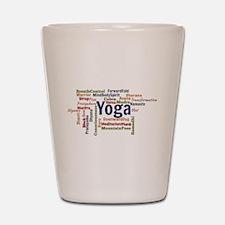Yoga Shot Glass