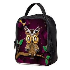 Owl Neoprene Lunch Bag