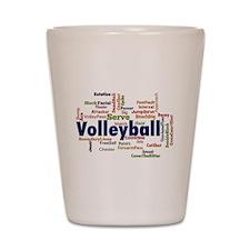 Volleyball Shot Glass