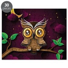 Cute Owl flight Puzzle