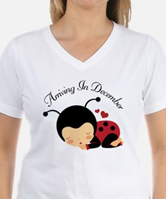 Arriving in December Baby Ladybug T-Shirt