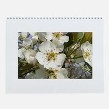Spring Flowers Calendar - Horizontal