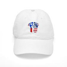Puerto Rican American Baby Baseball Baseball Cap