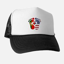 Portuguese American Baby Trucker Hat