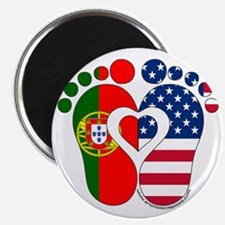 Portuguese American Baby Magnets