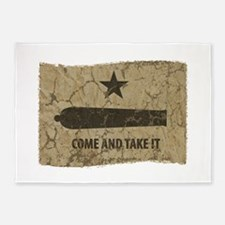 Come and Take It 5'x7'Area Rug