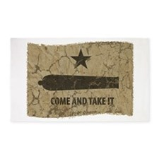 Come and Take It 3'x5' Area Rug