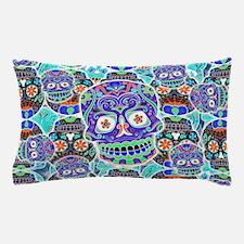 Unique Mexican sugar skulls Pillow Case