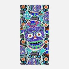 Cool Day of the dead Beach Towel