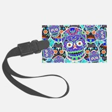 Cute Mexican sugar skulls Luggage Tag