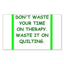 quilting Decal