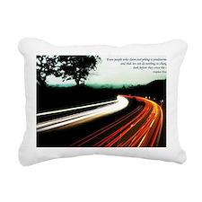 Stephen Hawking quote Rectangular Canvas Pillow