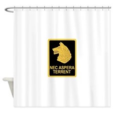 27 Infantry Regiment.psd.png Shower Curtain
