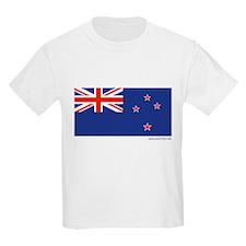 New Zealand Flag - Kids T-Shirt