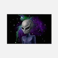 Alien Nebula Rectangle Magnet (10 pack)