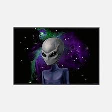 Alien Nebula Rectangle Magnet