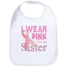Breast Cancer Awareness sister Bib