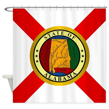 Alabama (v15b) Shower Curtain