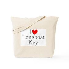 """I Love Longboat Key"" Tote Bag"
