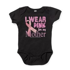 Breast cancer awareness mother Baby Bodysuit