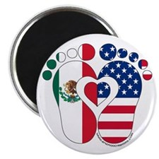Mexican American Baby Magnets