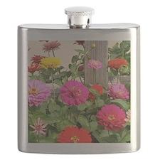 Happy Blooms Flask