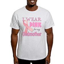 Breast cancer awareness Godmother T-Shirt