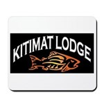 Kitimat Lodge Logo Mousepad